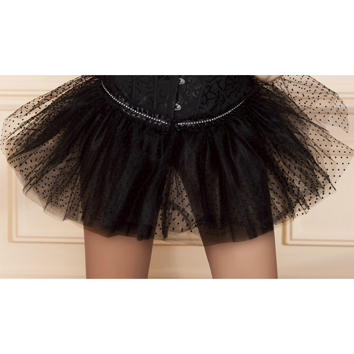 black dot pettiskirt BC1746