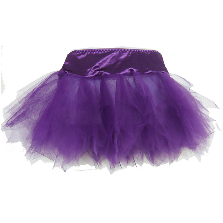 purple mini Skirt BC1773