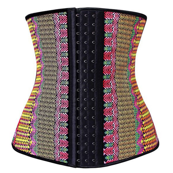 Waist Trainer for Weight Loss Latex Workout Cincher Hourglass Corset Multi BK9102