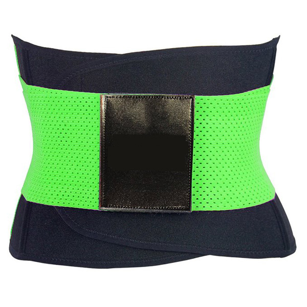 Xtreme Belt Power Shapers Hot Slimming Waist Gym Trainer Corset Green BK9122