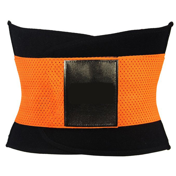 Xtreme Belt Power Shapers Hot Slimming Waist Gym Trainer Corset Orange BK9123