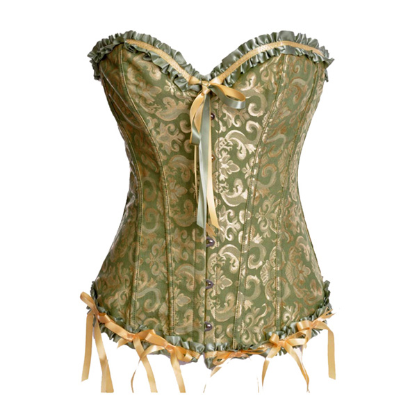 Floral Embroidered Corset BC1507