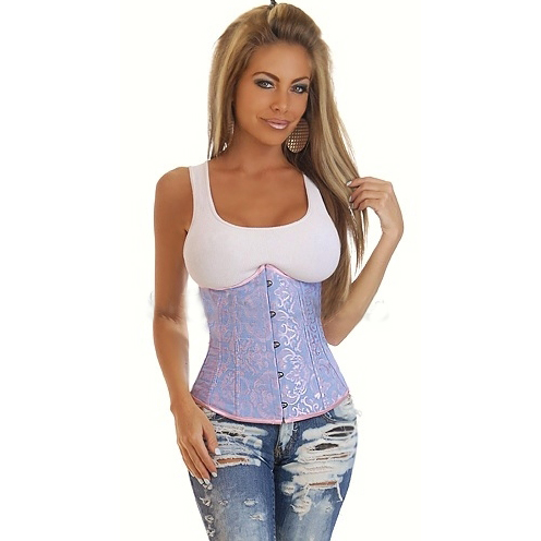 Embroidered Underbust Corset BC1850